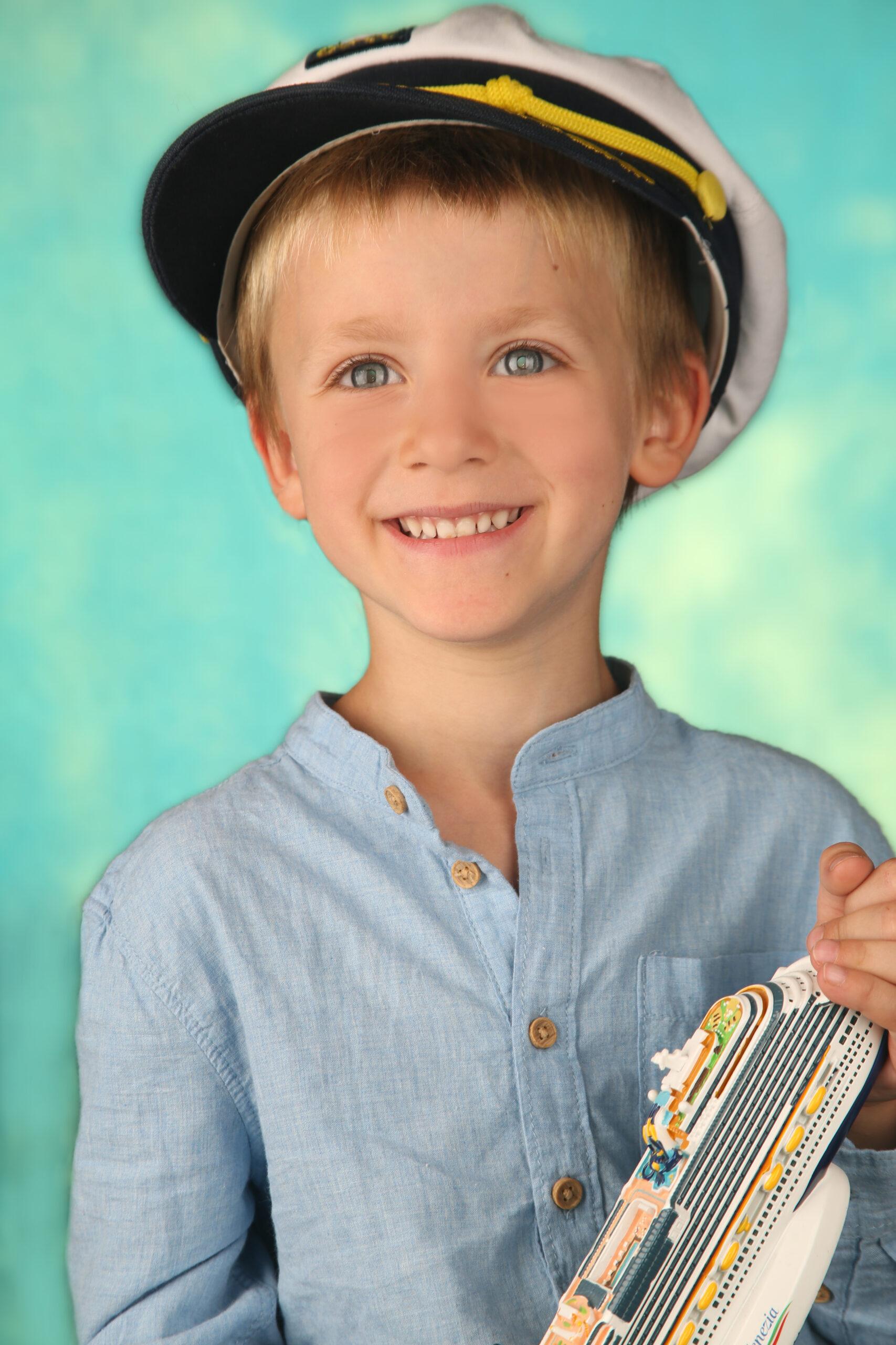 Kinderfoto Kapitän