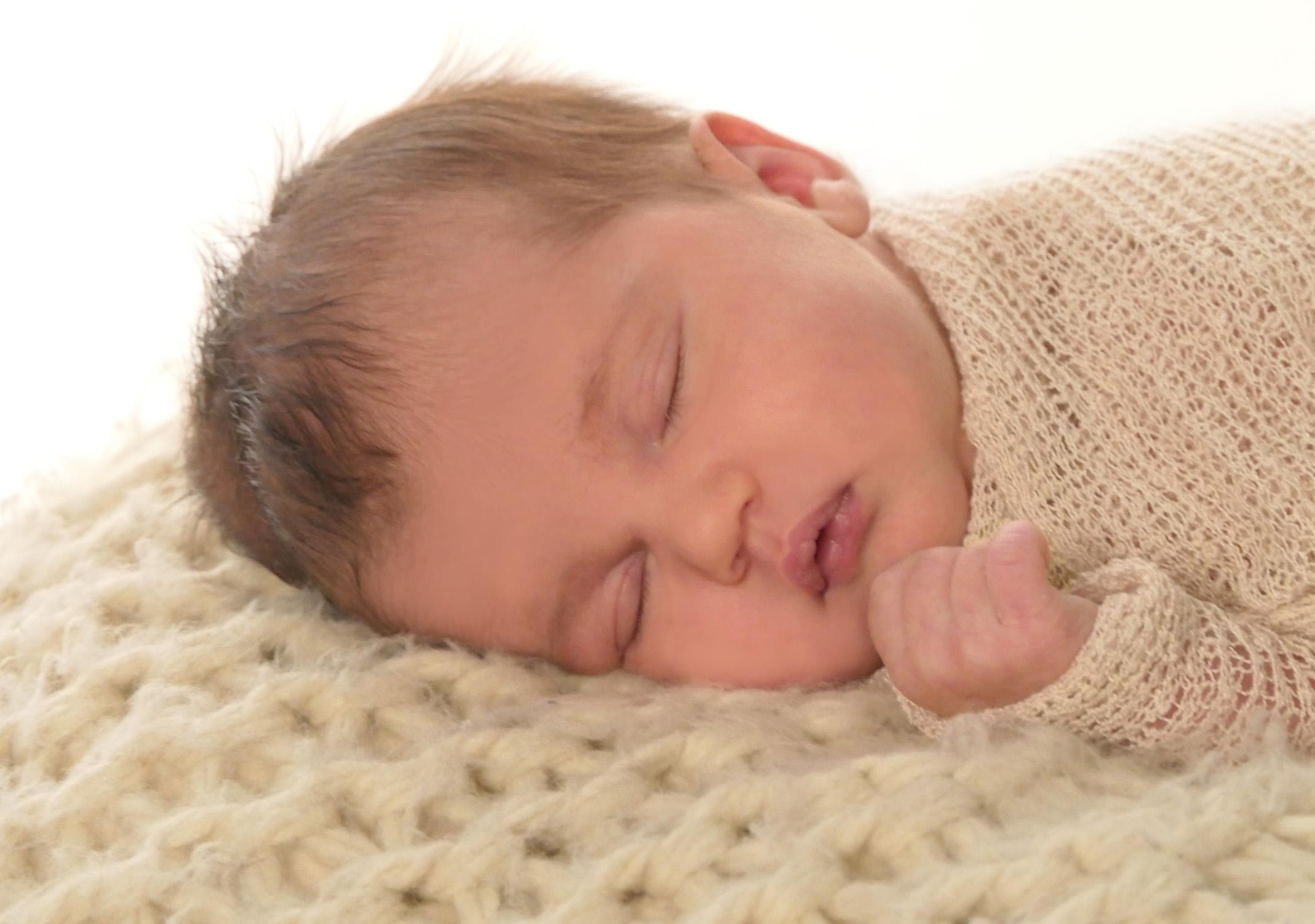 Babyfoto schlafend